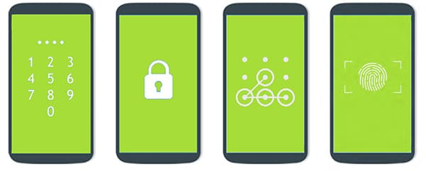 android lock screen types