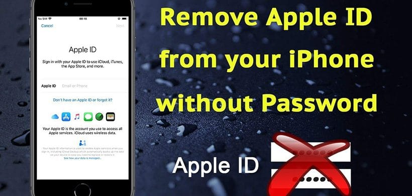 How to Remove Apple ID from iPhone/iPad without Password? – 100% Work