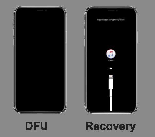 dfu vs recovery