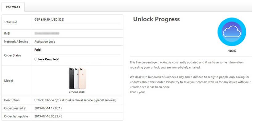 doctorunlock icloud unlock complete