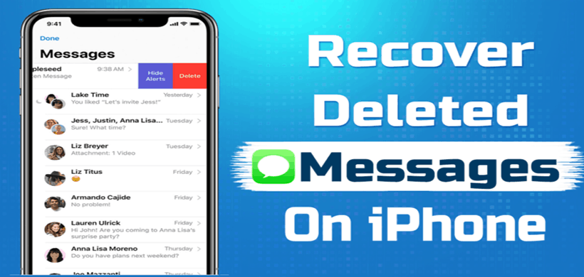 How to Retrieve Deleted Messages on iPhone 12/11/XS/XR/X?