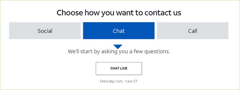 contact att support