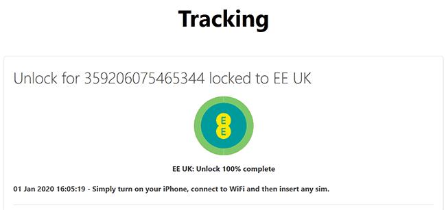 unlock ee uk complete