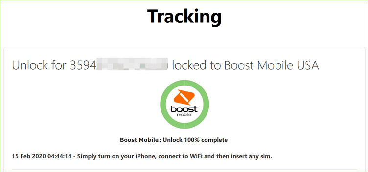 boost mobile unlock complete