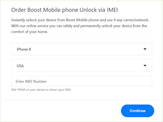 boost mobile unlock service