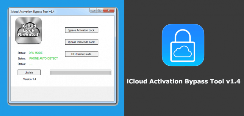 iCloud Activation Bypass Tool Version 1.4 Free Download & Review 2020
