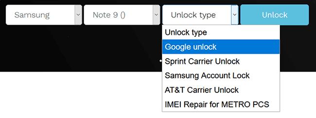 select google unlock unlockjunky