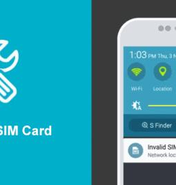 "[Solved] Fix ""Invalid SIM card. Network locked SIM card inserted"" 2021"