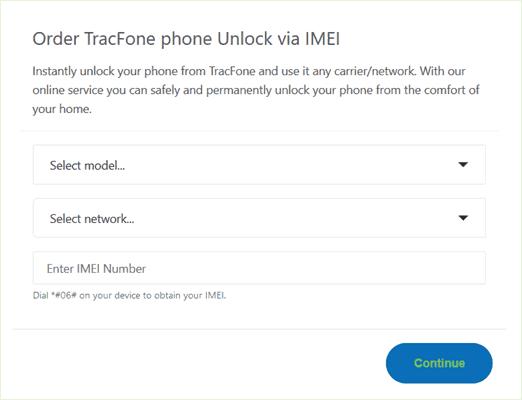 order tracfone unlock