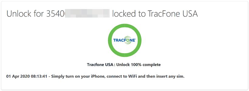 tracfone unlock complete