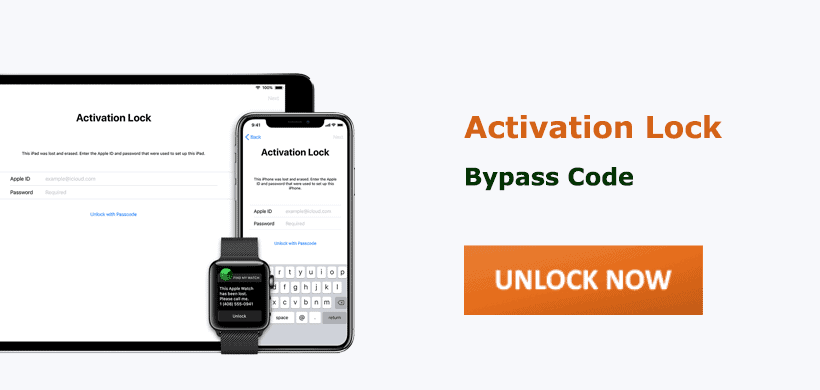 Get iPhone/iPad Activation Lock Bypass Code Free in 2021