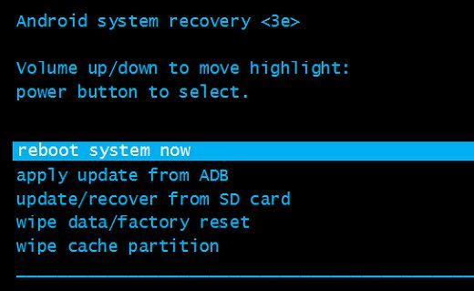 android reboot system now