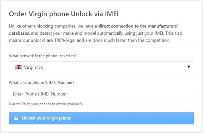 order virgin phone unlock