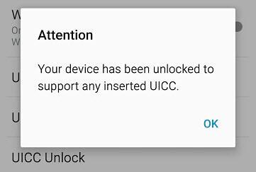unlocked insert uicc