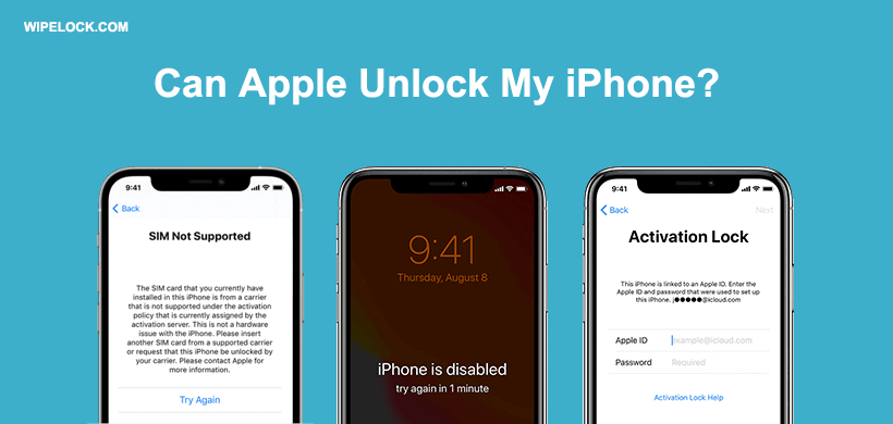Can Apple/Apple Store Unlock My iPhone or iPad from Carrier/iCloud/Passcode Lock?