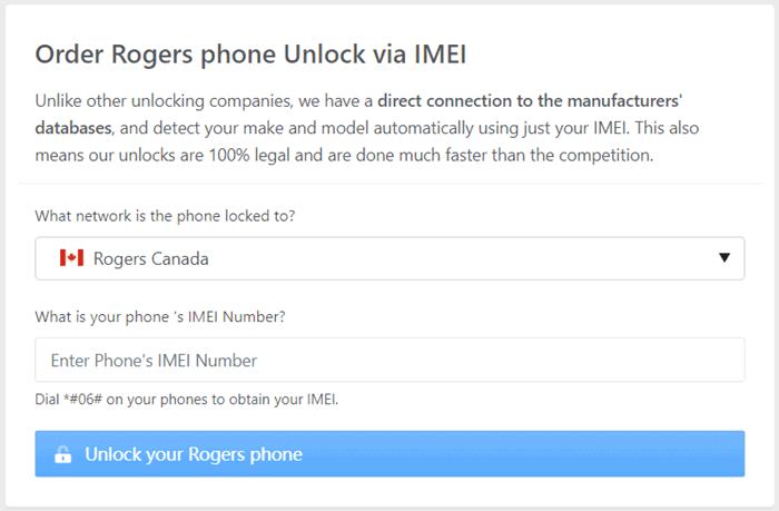 order orgers phone unlock