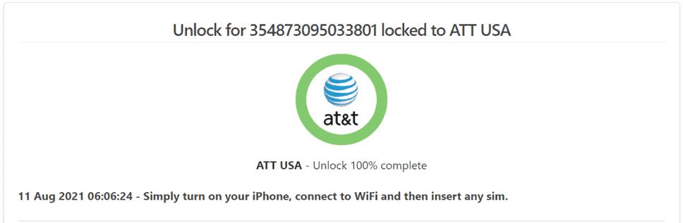 att phone unlock complete