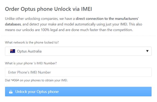 order unlock optus directunlocks
